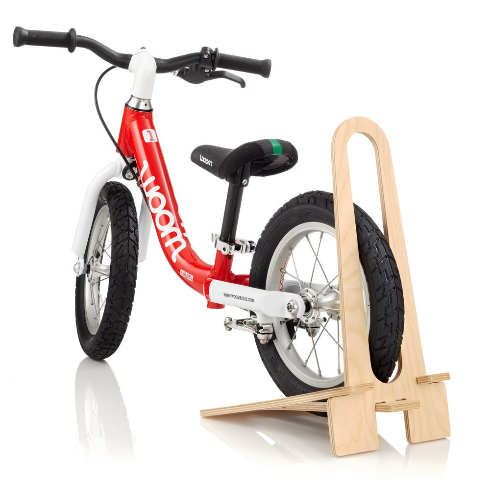 woom Wooden Bike Stand, 12''/14'', Beige