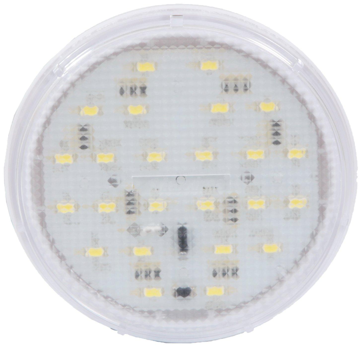 Maxxima M84436 24 LED White 4'' Thin Profile Interior Dome Light 450 Lumens