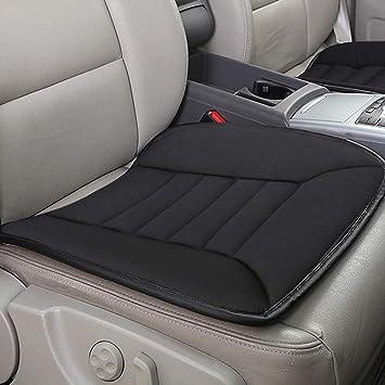 RaoRanDang Breathable Car Seat Cushions Pad Memory Foam Seat Cushion for Auto Supplies Office Chair Black