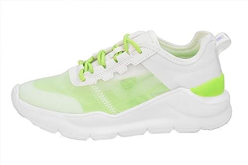 Damen Sneaker Sport Laufschuhe Pailletten Schnürschuhe Turnschuhe Freizeitschuhe