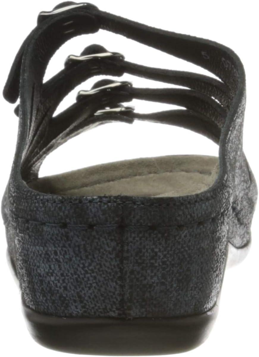 Berkemann Hassel Pantoletten voor dames Blauwe Nachtblau 330
