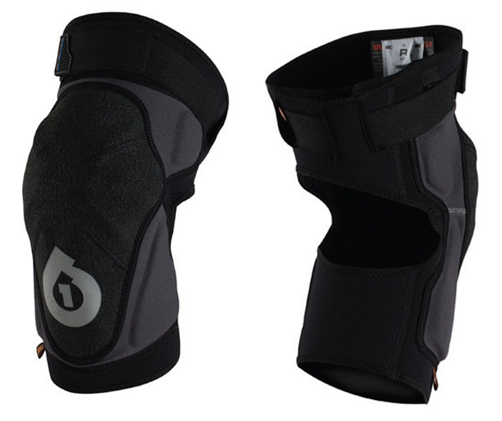 SixSixOne Unisex-Adult Evo Knee Guard II (Black, Medium) 7127-05-052