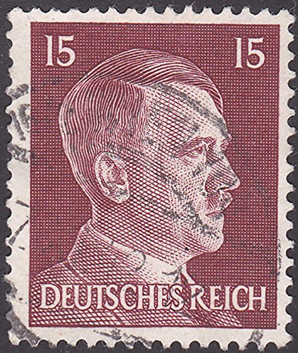 stamp German Adolf Hitler 15 Pfennigs Postage