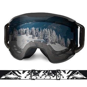 Amazon.com: Gafas de esquí, gafas de esquí, para nieve ...