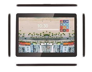 """Prixton T1800Q+ - Tablet de 10.1"""", Wifi + 3G, Quad Core, 2"""