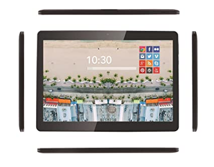 "Prixton T1800Q+ - Tablet de 10.1"", Wifi + 3G, Quad Core, 2"