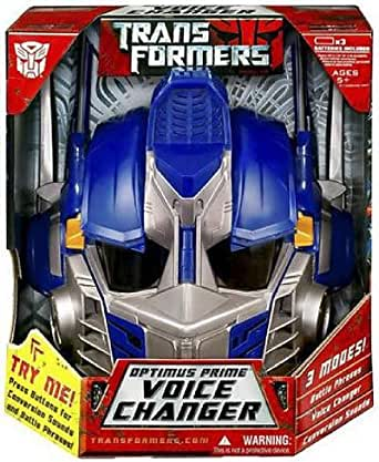hasbro transformers optimus prime voice changer helmet clothing. Black Bedroom Furniture Sets. Home Design Ideas