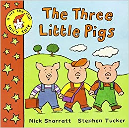 Book The Three Little Pigs (Lift-the-flap Fairy Tale) by Stephen Tucker (2002-04-26)