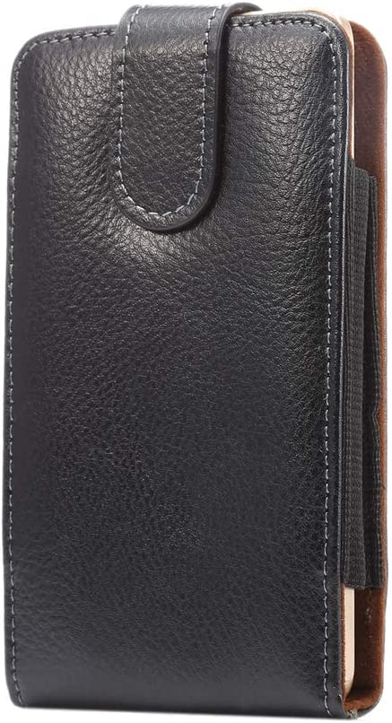 Vertical Leather Swivel Belt Clip Holster Phone Case Pouch for Note 9 S10+ S9 Plus A20 A50/ LG Stylo 4 5 V50 V40 ThinQ/Moto G7 Power/Google Pixel 3a XL/iPhone Xs Max 8 Plus/ASUS ZenFone 6/5Q Honor 8X