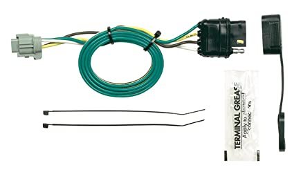 amazon com hopkins 43595 plug in simple vehicle wiring kit automotive  hopkins 43595 plug in simple vehicle wiring kit