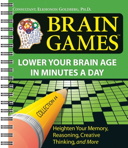 Brain Games 4 Lower Your Brain Age In Minutes A Day Brain Games