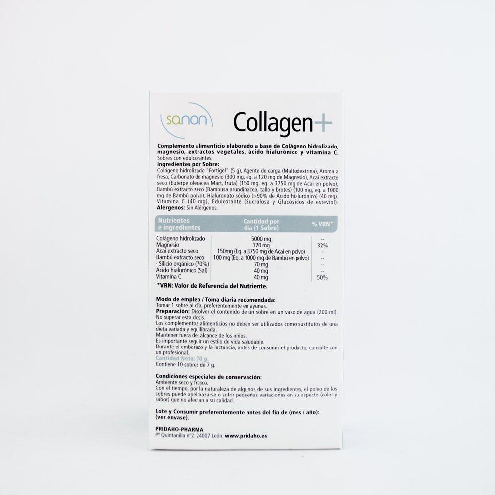 SANON - SANON Collagen+ 10 sobres de 7 g: Amazon.es: Salud y cuidado personal