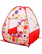 Tech Traders ® Pop UP Children Kids Baby Play Tent PlayHouse Spotty Indoor Outdoor Tale Tent
