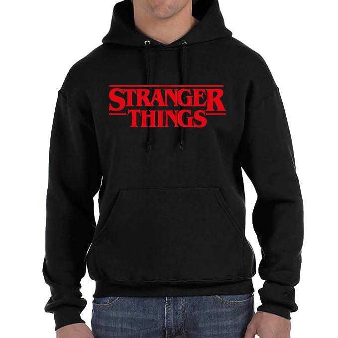 82bdad76b431 Desconocido Stranger Things - Sudadera con Capucha y Bolsillos (S)