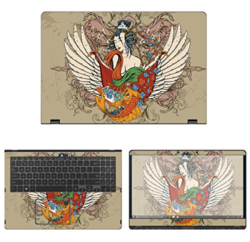 protective decal tattoo skin sticker for asus