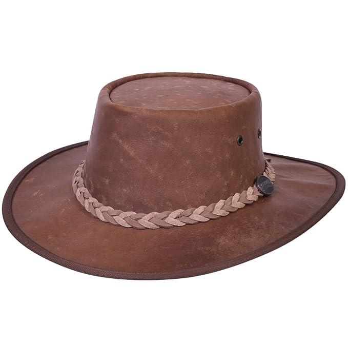 54a55d91577a0 Sombrero de piel de canguro australiano plegable MOD 1018 (Large ...