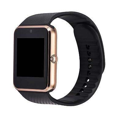 Zhaotian - Smartwatch GT08, soporta tarjeta SIM, con sincronización y notificaciones, conectividad por
