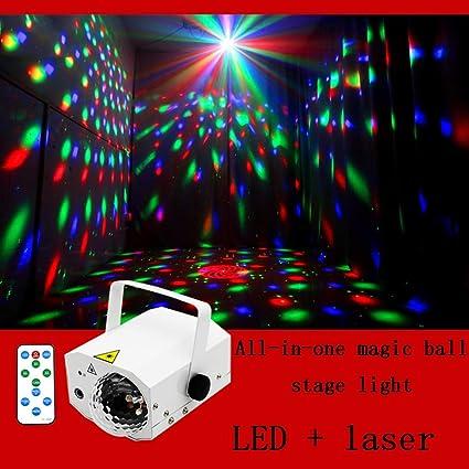 Luces de discoteca, sonido activado enciende la etapa del partido ...