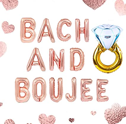 Bach and Boozy Boozy Bachelorette Bride and Boujee Bach /& Boozy Bachelorette Decorations Bachelorette Banner Bach and Boujee