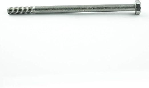 Stahl 2 Stk Sechskantschraube /& Mutter DIN 601 M24 x 200