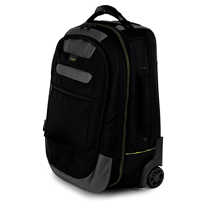 Amazon.com: Targus CityGear 15.6-inch Rolling Laptop Backpack - Black/Grey: Electronics