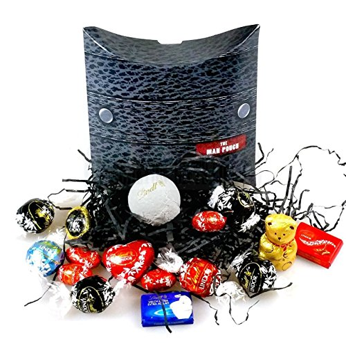 Lindt Father's Day Lindt Man Pouch By Moreton Gifts Ideal Gift For Father's Day