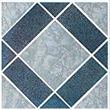 Home Dynamix 1622 Dynamix Vinyl Tile, 12 by 12-Inch, Gray, Box of 20