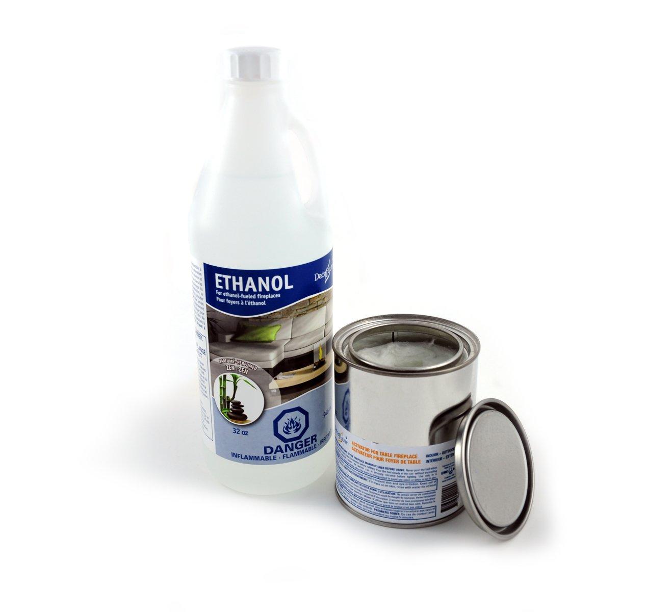 decorpro Duft Liquid Ethanol Kraftstoff Starter-Pack decoflam