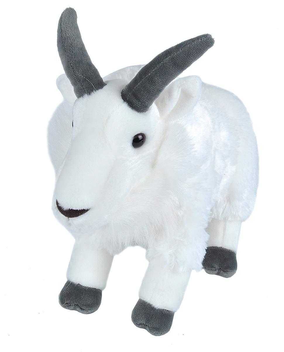 Wild Republic Cuddlekins-Mini Mountain Goat Plush 8-Inch