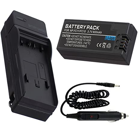 Batería + Cargador para Sony Cyber-shot DSC-P8 DSC-P9 Cámara ...