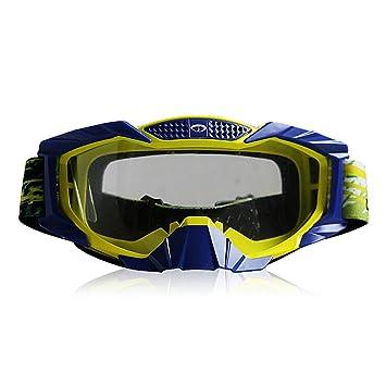AmDxD TPU Gafas de Moto Ciclismo Gafas Deportivas Esqu/í Gafas Protecci/ón Protecci/ón contra Polvo Anti Niebla Gafas Protectoras Al Aire Libre Proteccion para Esqu/í Moto de Nieve Moto