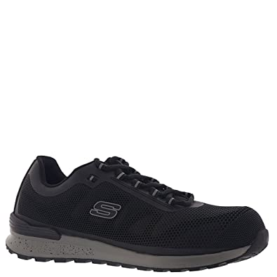 1bc7b0d9f550 Amazon.com  Skechers Work Mens Bulklin Comp Toe  Shoes