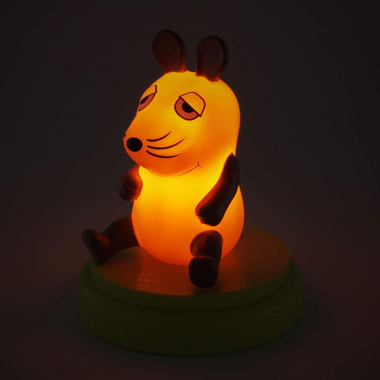 Ansmann Veilleuse Lumineuse LED B/éb/é//Enfant en Forme de Petite Souris