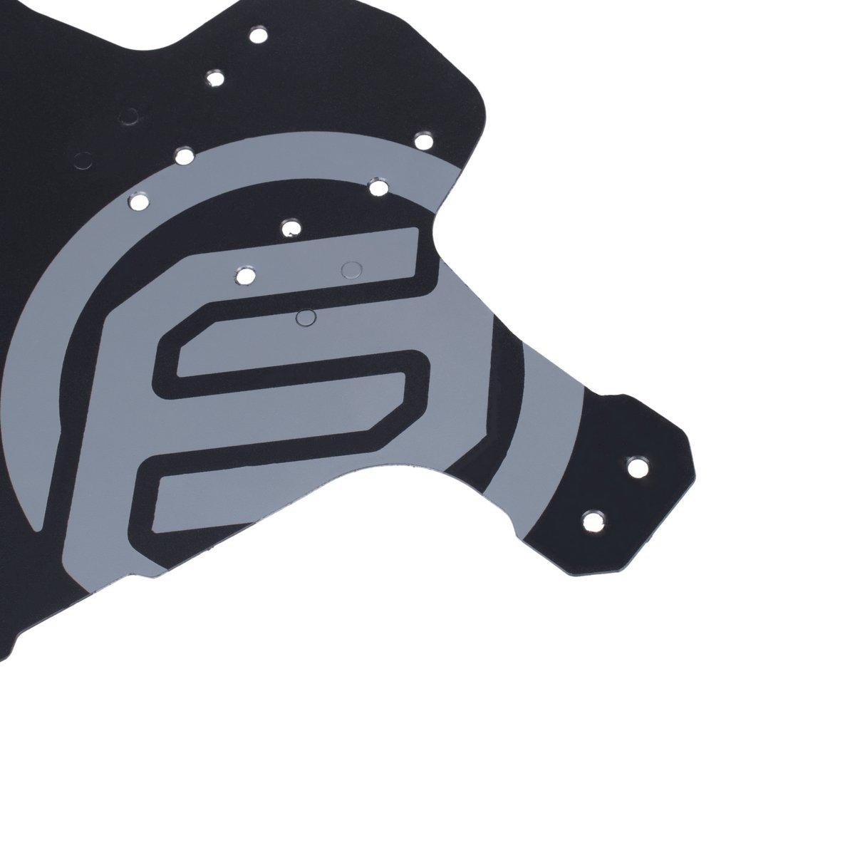 Guardabarros para bicicleta de montaña MTB de FIFTY-FIFTY, ajustable, compatible con ruedas delanteras y traseras de 26, 27,5 y 29 pulgadas, para ruedas de ...