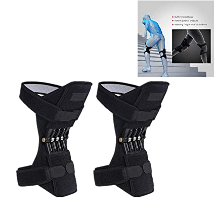 Original PowerLift Joint Support Knee Powerful Pads Rebound Spring Force UK