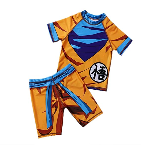 Traje de baño para niños Dragon Ball Sun Goku Boys Traje de ...