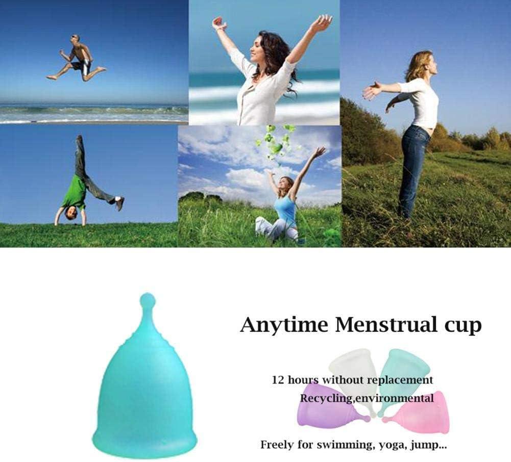 Jszzz Orgánica Copa Menstrual Reutilizable, de cortesía Mejor ...