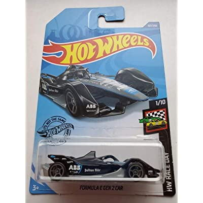 Hot Wheels 2020 Hw Race Day Formula E Gen 2 Car, Black 107/250: Toys & Games