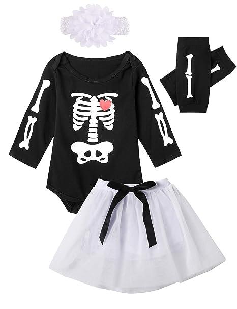 Catpapa - Conjunto de Disfraz de Calavera de Halloween para ...