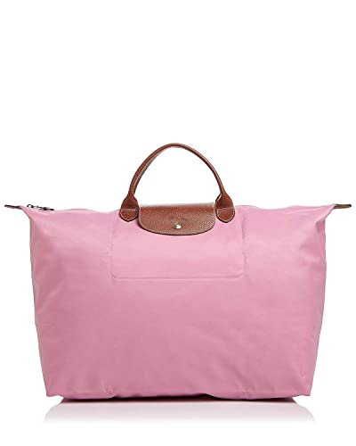 LongChamp Women's Le Pliage Pink Large Travel Bag Handbag