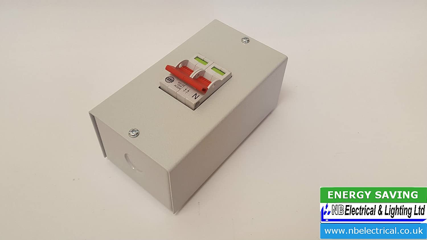 GE 100A Double Pole Main Switch Isolator