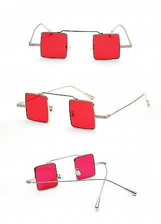 Gafas de Sol de Moda Gafas de Sol Polarizadas Clásicas de Alta Definición de Los Conductores de Conducir Espejo Rosa Roja: Amazon.es: Deportes y aire libre