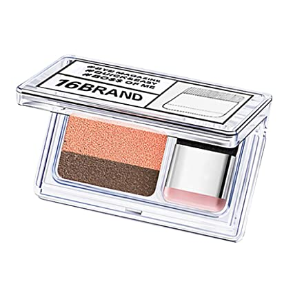 Sombras de ojos, 2 colores Lazy Eye Shadow Powder Rainbow ...