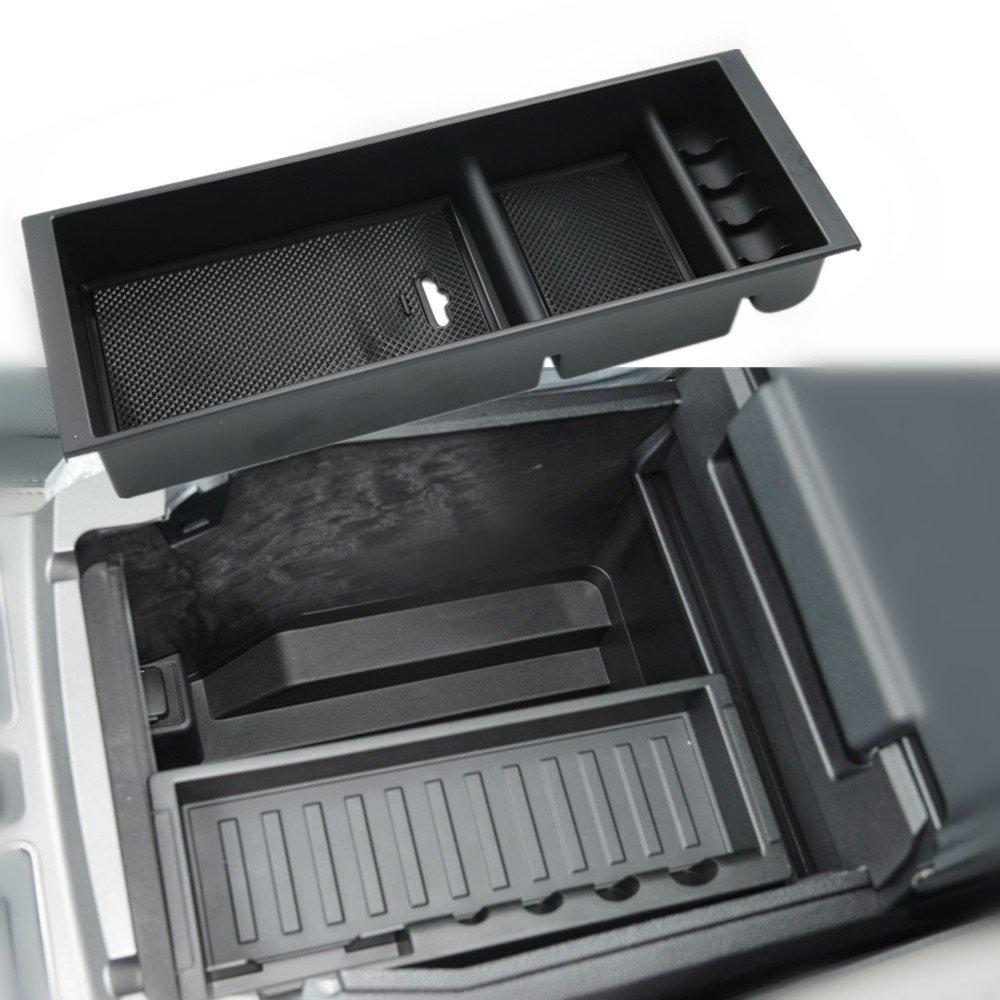For  2015-2019 Ford F-150 model trucks Console Organizer Dividers Storage Box