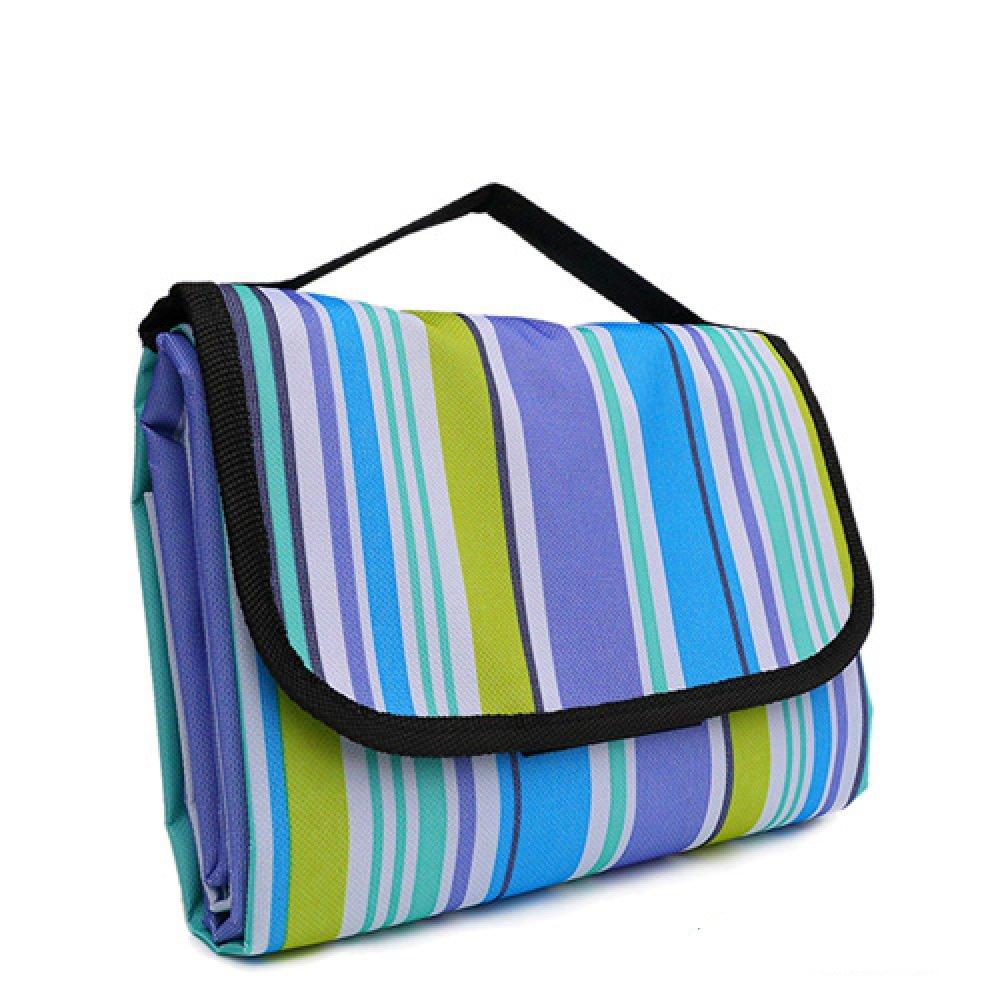 Jiu Bu Grasmatte Im Freien Picknick-Tuch Tragbar Ultraleicht Zusammenklappbar Oxford-Tuch Strandmatte,F B07F79G5PY | Ideales Geschenk für alle Gelegenheiten