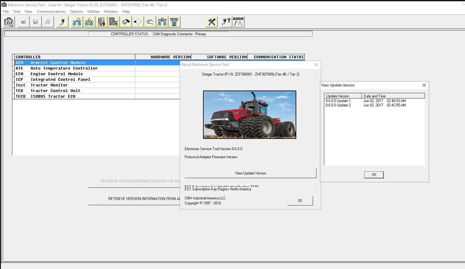 3d59a149f5c6 Amazon.com: CNH Est DPA 5 Diagnostic Kit 380002884 Diesel Engine ...