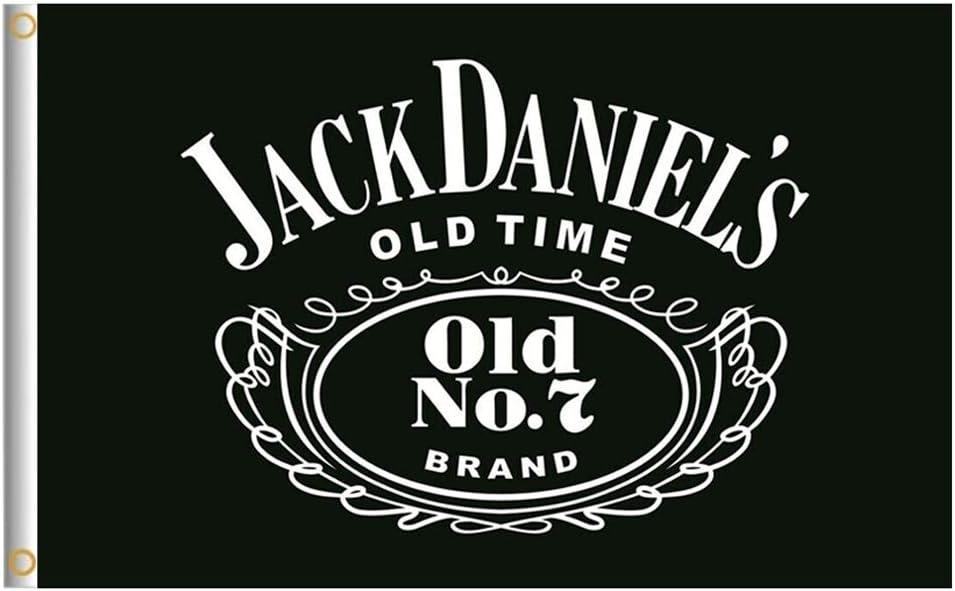 NEW whiskey bar flag banner decoration For Jack Daniels vertical FLAG 3x5FT