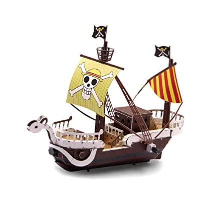 Amazon.com: Microworld 3d metal – Puzzle Going Merry Modelo ...
