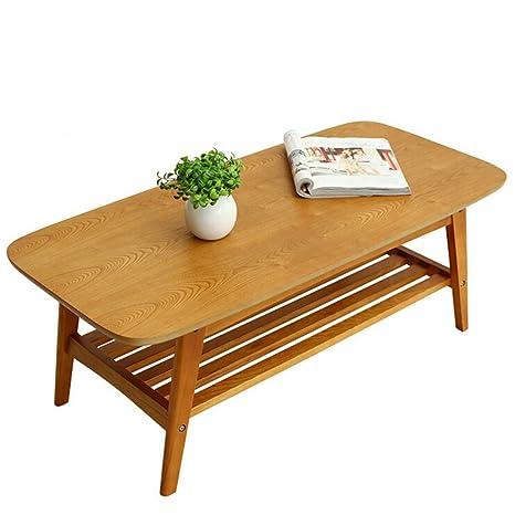 JM FURNITURE Moderno Tavolino in legno massiccio mobili da salotto ...