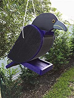 product image for DutchCrafters Hanging Bird Feeder (Raven)